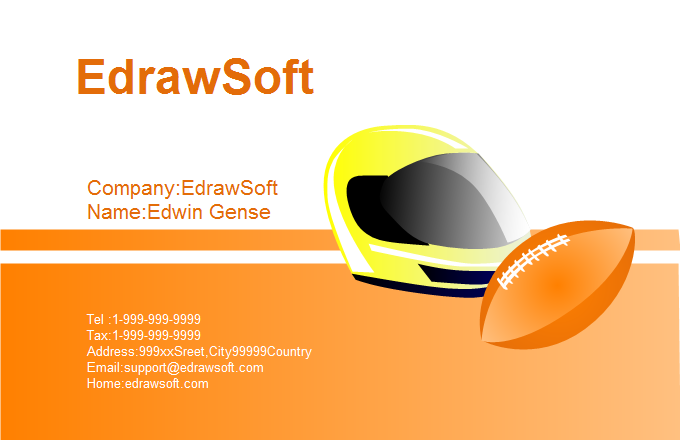 Sport Business Card 8