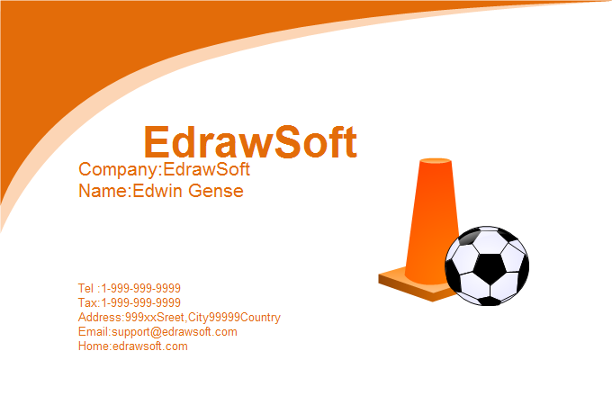 Sport Business Card 9