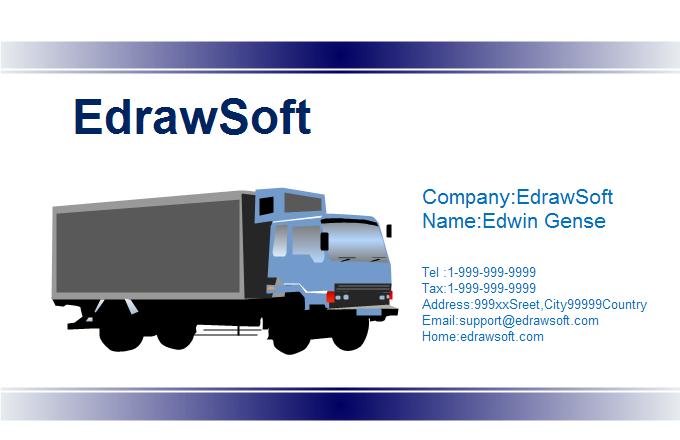 Traffic Business Card 8