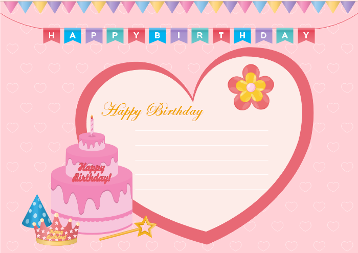 Free Editable and Printable Birthday Card Templates – Birthday Cards to Print out for Free