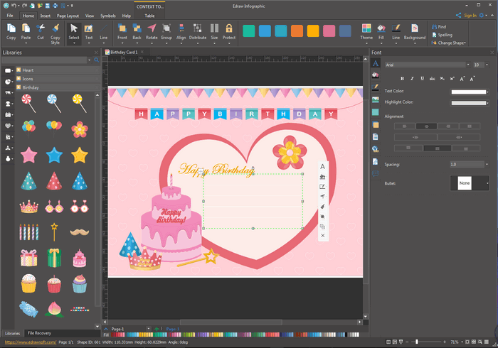 Edit and Customize Birthday Card Templates