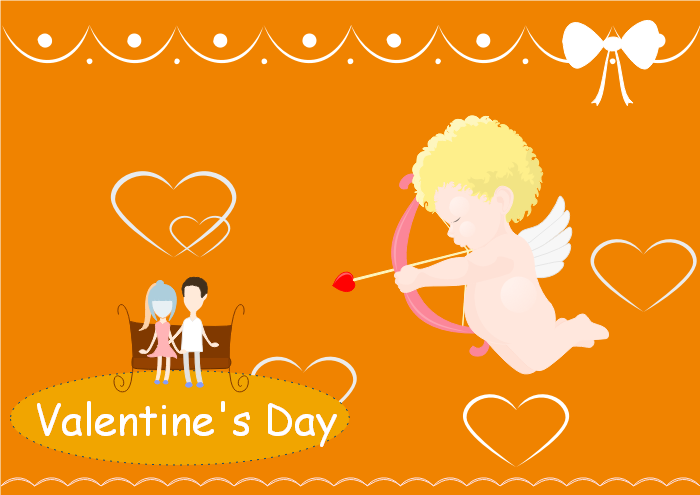 Valentine's Card Template Five
