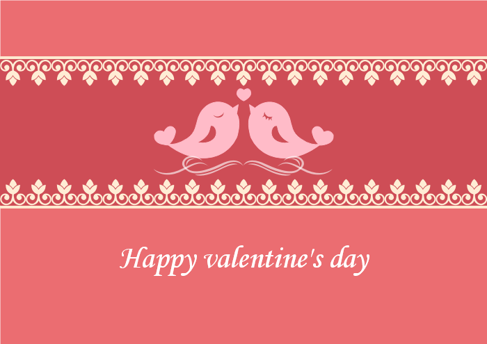 Printable Valentines Card Templates Free Download – Valentines Card Template