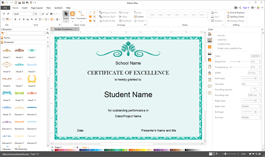 certificate design software  Certificate Maker - Create Personalized Certificates Easily