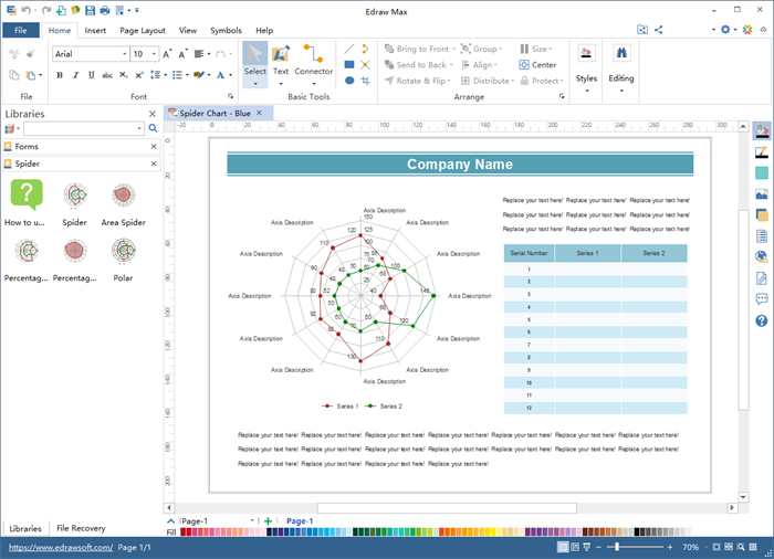 Edraw Graphic Organizer Software