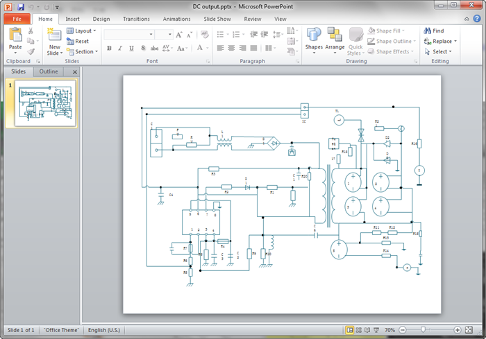 create circuit diagram for ppt rh edrawsoft com circuit diagram ppt draw circuit diagram in powerpoint