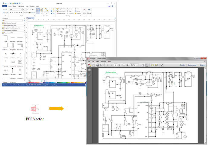 Export Circuit Diagram to PDF