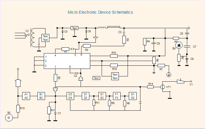 Difference between Schematics and Circuit DiagramsEdraw