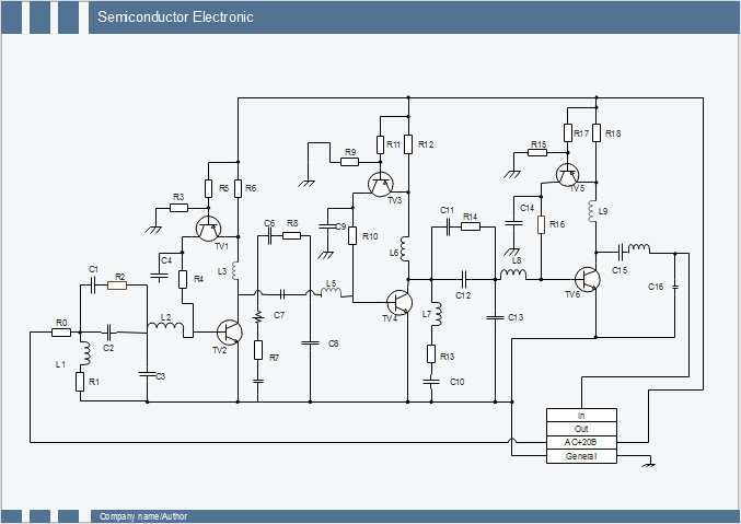 Semiconductor Schematic Circuit