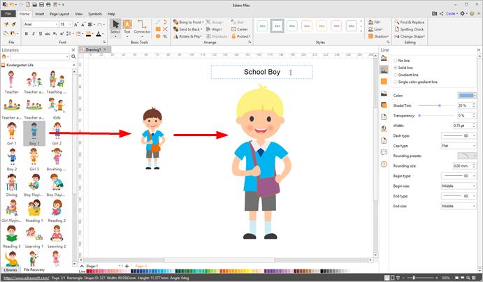 edit kindergarten life clipart