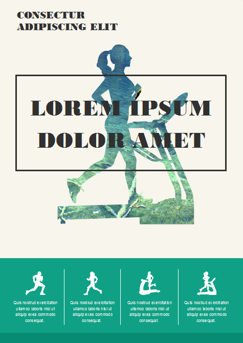 Fitness Clipart Application Example