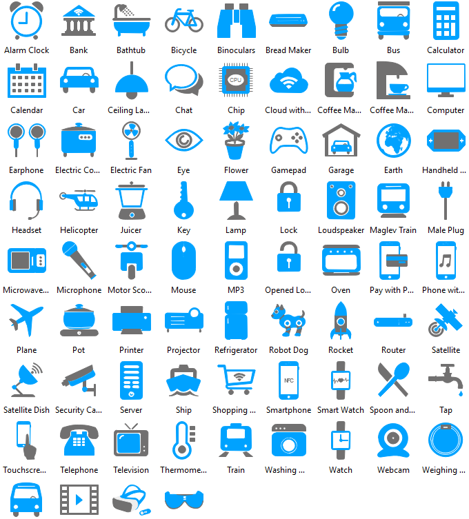 Internet of Things Clipart Collection