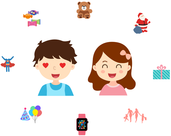 kids expressions clipart example happy face