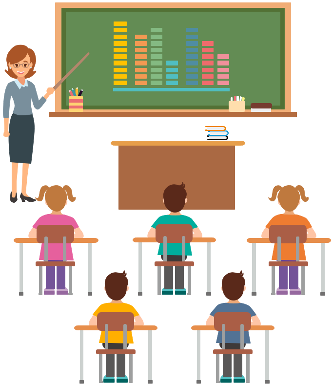 school life clipart example class