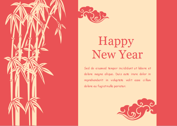 Spring Festival Clipart Application 1