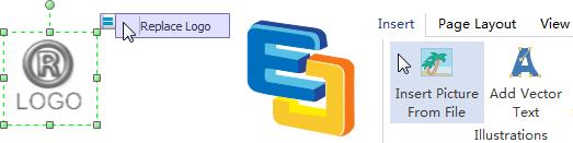 Logo ersetzen