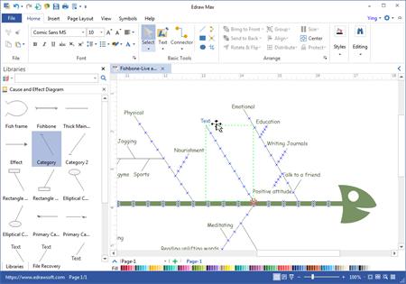 Ishikawa Software Fur Erstellen Des Ursache Wirkungs Diagramms Fur Mac Linux Und Windows
