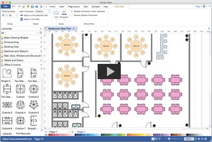 Grundriss Erstellen. Die Einfache Benutzerschnittstelle Und Umfangreiche  Grundrisssymbole Machen ...