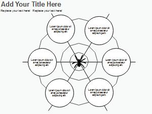 Spider Diagramm Graphic Organizer Vorlage 3