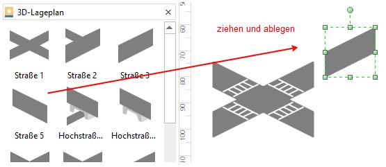 Straße-Konfiguration erstellen