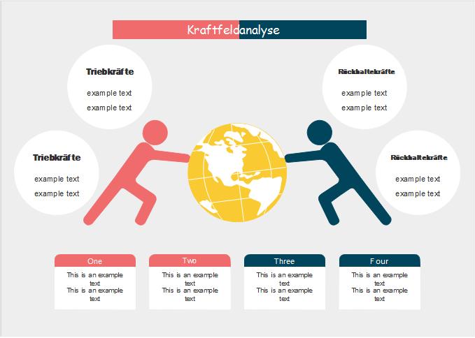 Kraftfeldanalyse Vorlagen