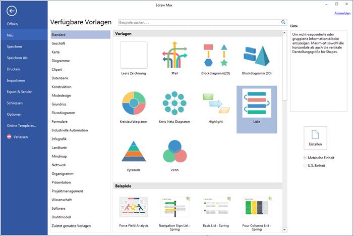 Edraw Max Darstellung Software: Januar 2017