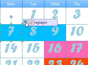 Datum des Kalenders ändern