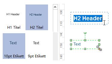 Zeugnis Textfelder bearbeiten