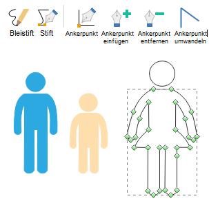 Benutzerdefinierte Infografik-Elemente