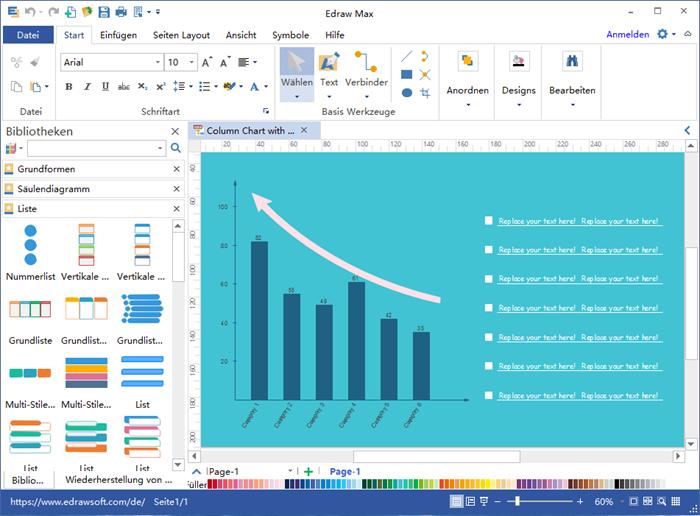 Säulendiagramm Software