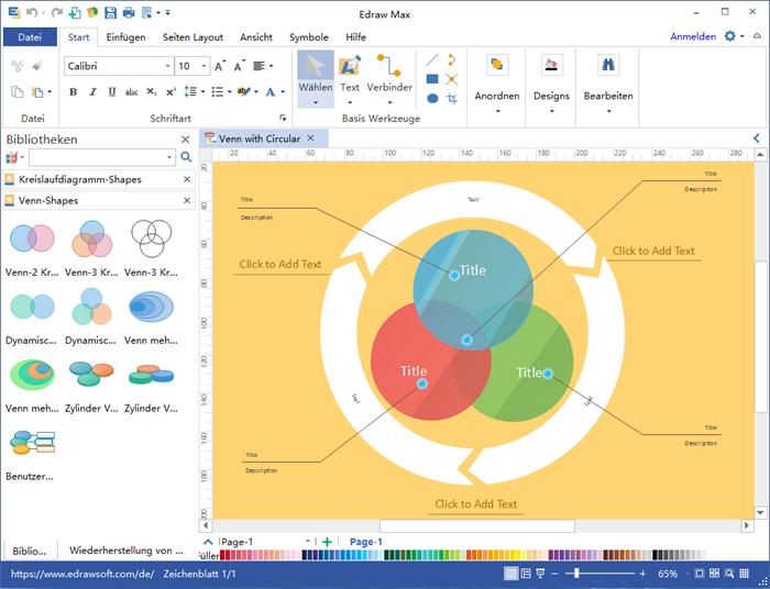 Mengendiagramm Software