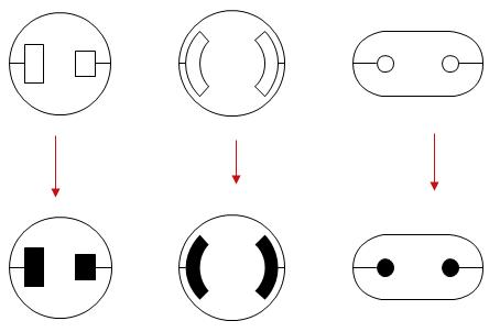 Schaltplan Symbole - Standarde Schaltzeichen für elektronische Bauteile