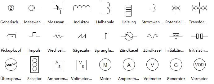 Ausgezeichnet Elektrisches Symbol Für Generator Bilder - Elektrische ...