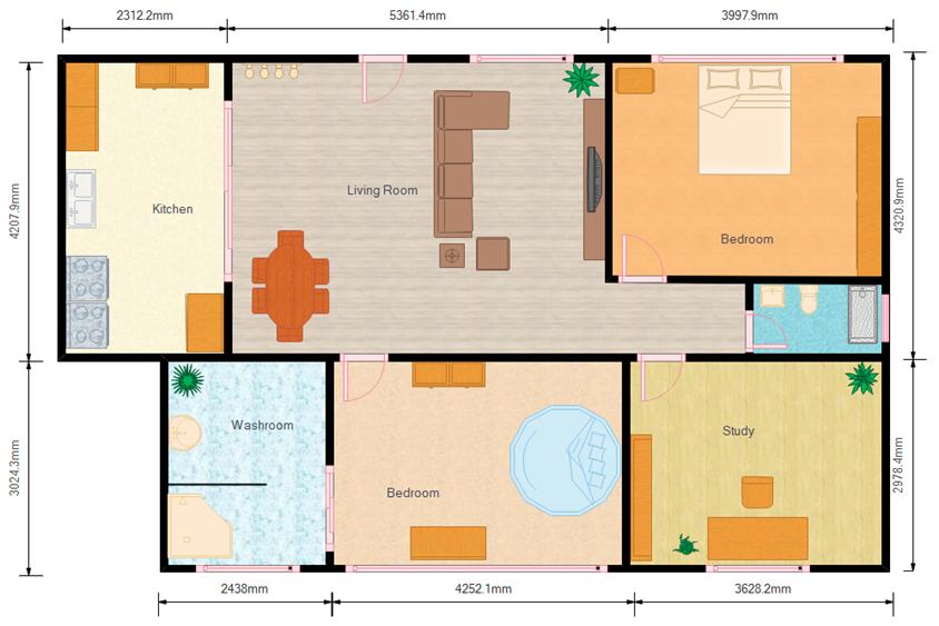 Haus Bauplan Beispiele