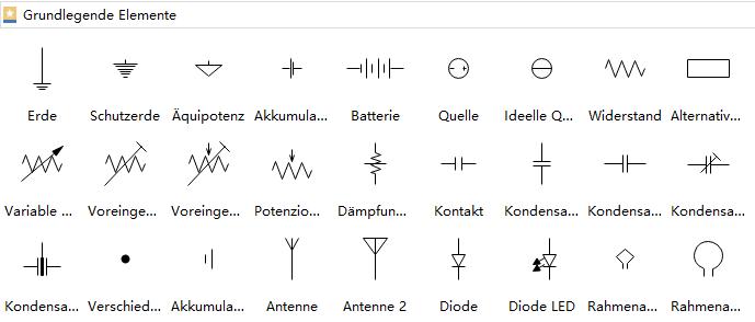 Berühmt Variables Widerstandssymbol Galerie - Elektrische ...