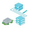 3D Netzwerkdiagramm