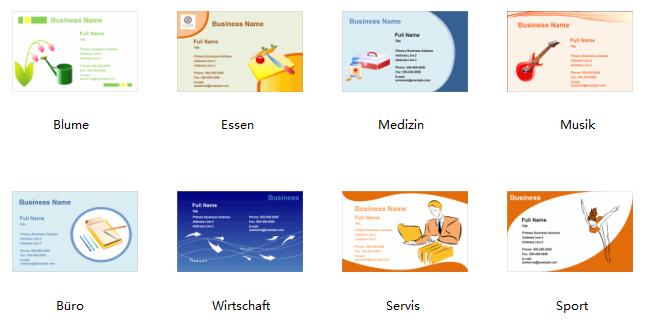 Visitenkarten Selbst Erstellen Programm Für Gestaltung Der