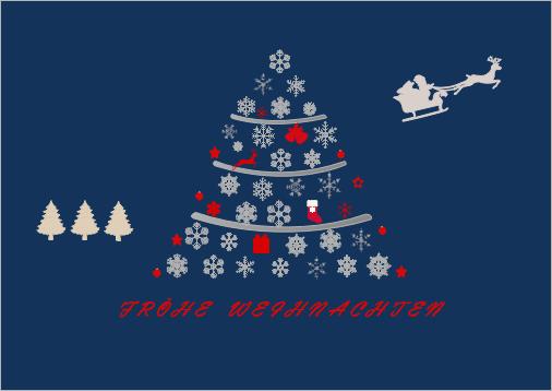 Weihnachtskarten Freeware.Schöne Weihnachtskarten Beispiele Kostenlos Herunterladen