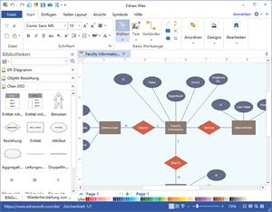 Datenbankdiagramm Software