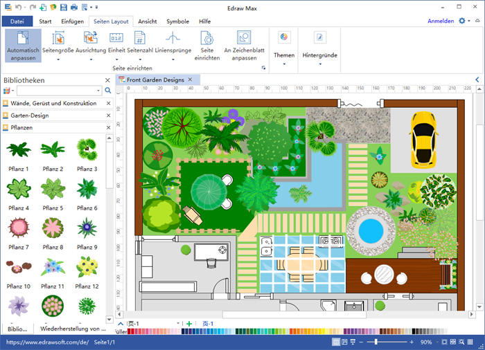 Gartenplaner software f r gartengestaltung for Arid garden design 7 little words