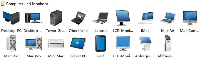Computer and Monitor Symbols