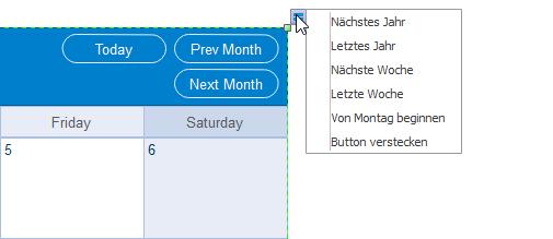 Daten der Kalender ändern