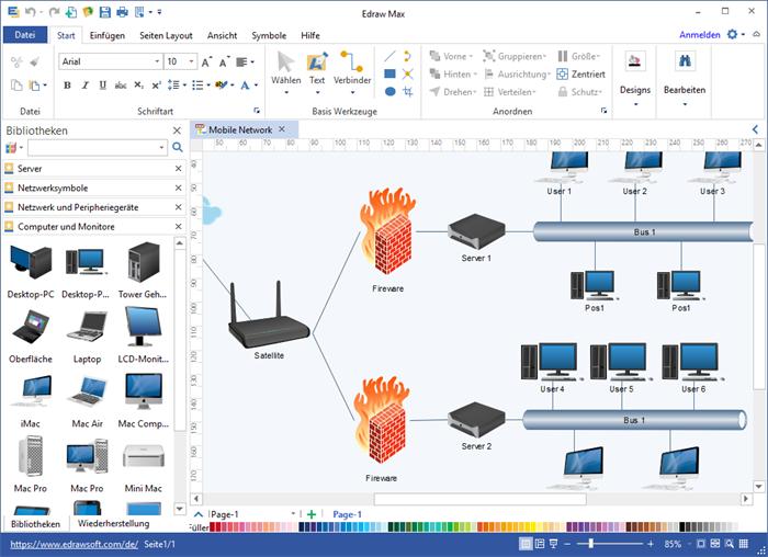 Standard-Netzwerk Software