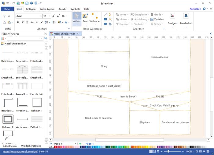 NS-Diagramm Software