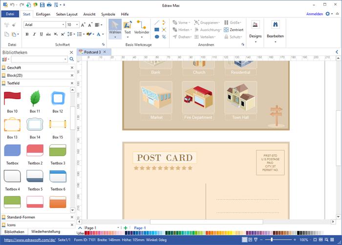 Postkarte Software kostenlos herunterladen