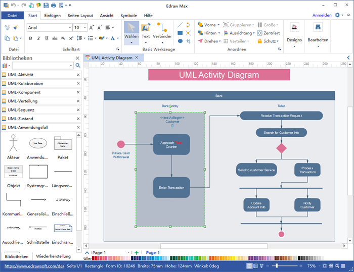 UML Diagramme Software