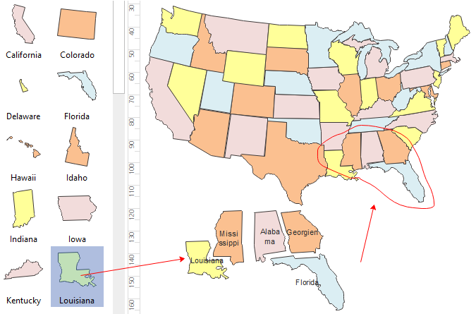 Geo Map - America