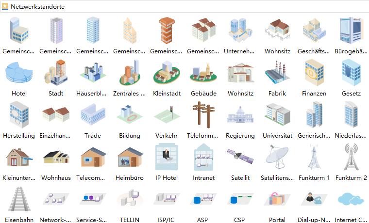 Netzwerkstandort Shapes