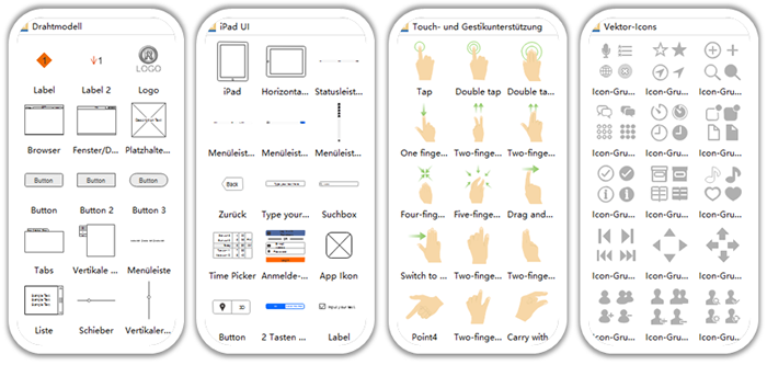 iPhone UI Wireframe Kit