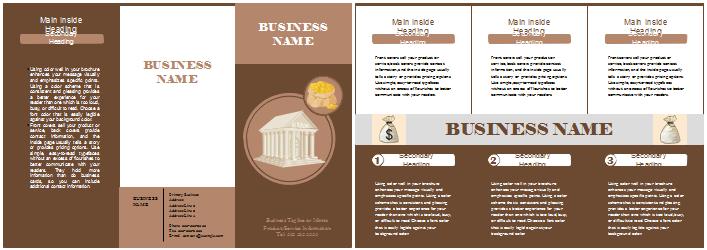 Broschüre Vorlagen - Unternehmen
